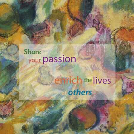Share your passion_6x6